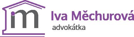 logo - Iva Měchurová - Advokátka